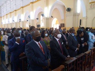 Messe d'Action de grâce : «Christian Mwando place sa gestion entre les mains du seigneur»