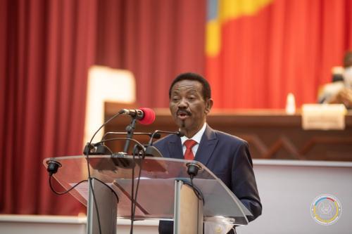 Etat de siège: C. Mboso appelle la population à l'unité derrière les FARDC