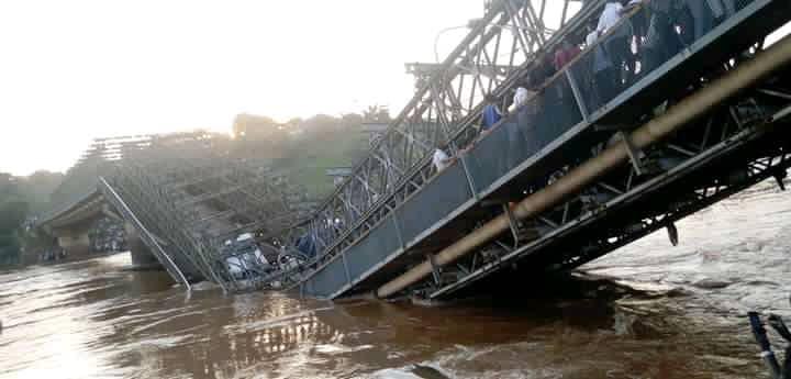 Kasaï : plaidoyer pour la réhabilitation du pont Kasaï effondré il y a plus de 6 mois