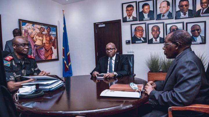 RDC: Sama Lukonde et Gilbert Kabanda discutent de la mise en œuvre de l'état de siège