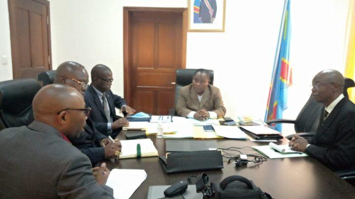 RDC : la mise en œuvre du projet LEAF III au centre des discussions entre le ministre Adrien Bokele et une délégation de la BAD