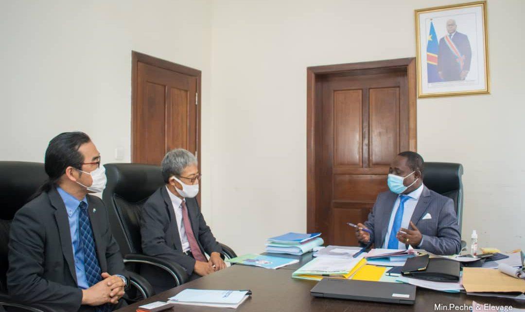 Adrien Bokele Djema poursuit ses consultation avec différents partenaires pour booster le secteur de pêche et élevage en RDC