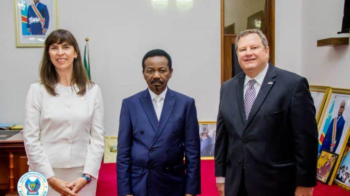 Assemblée nationale : Les questions des droits humains au menu des échanges entre Mboso et Lisa J. Peterson