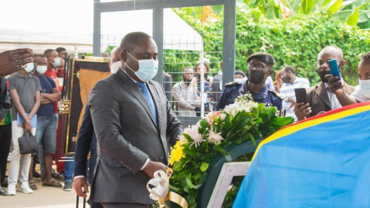 Le ministre Adrien Bokele rend les derniers hommages à Deller Kawino
