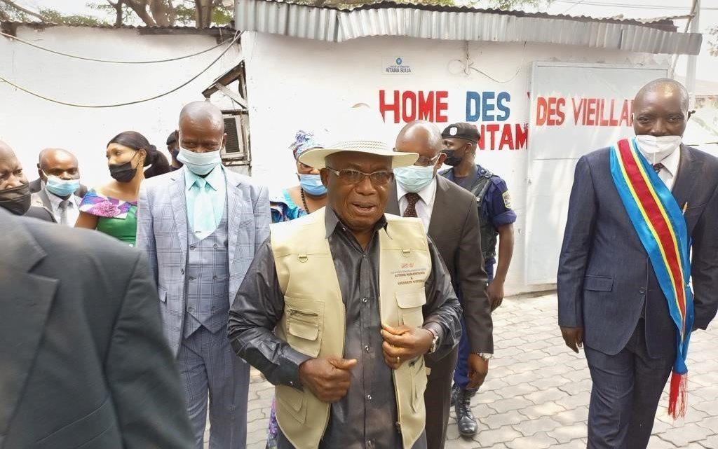 Kinshasa: Le ministre des Affaires sociales visite les hospices et homes des vieillards