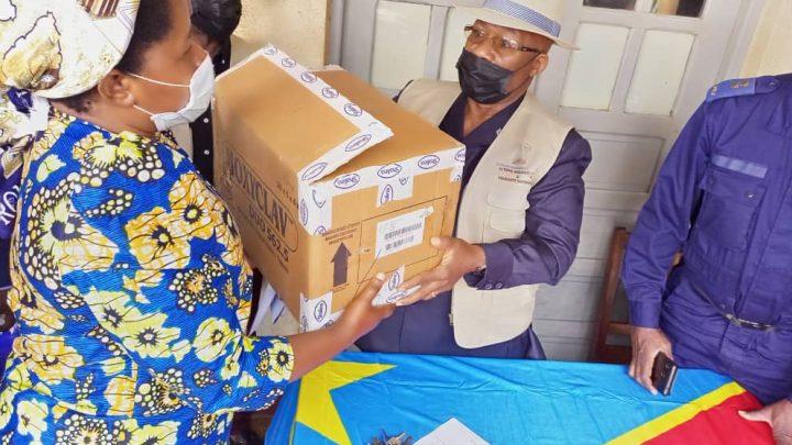 Après Beni, M. Mutinga poursuit l'assistance humanitaire en faveur des déplacés à Butembo