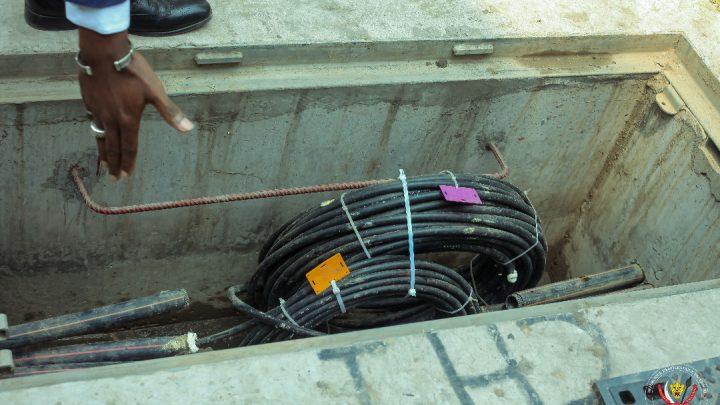 La RDC se dote d'un réseau fibre optique de 620 Km sur l'axe Muanda-Kinshasa