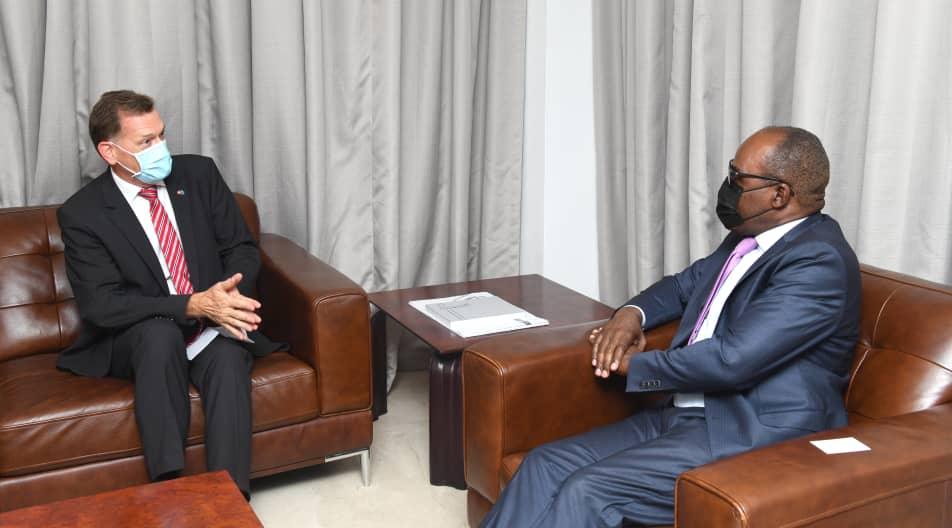 La conclusion du Programme RDC-FMI au centre des échanges entre Nicolas Kazadi et Roger Denzer