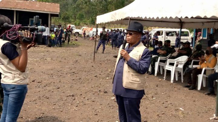 Goma : le Gouvernement ordonne le déplacement des sinistrés du volcan Nyiragongo vers le camp provisoire de Kanyarucinya