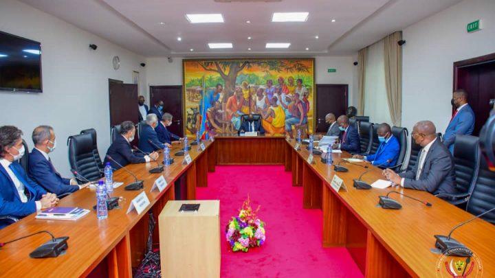 RDC : des projets ambitieux pour la RDC présentés au Premier ministre Sama Lukonde par des investisseurs turcs
